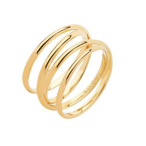 AGUSTE WRAP RING - HIGH POLISHED GOLD