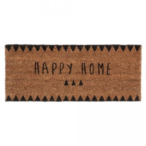 Paillasson Happy Home 25 x 55 cm CLAIRE | Maisons du Monde