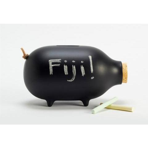 Chalk-it-to-Me Piggy Bank - modern - accessories and decor - by Gessato