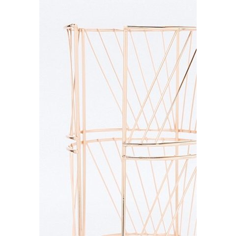 Porte-papier toilette couleur or rose - Urban Outfitters