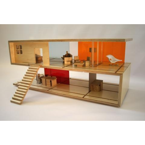 qubis — Qubis Haus - Coffee Table and Dolls House