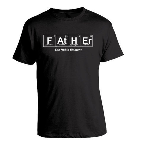 Father  Periodic Table T-Shirt  Birthday Christmas par brewershirts
