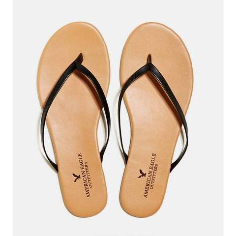 AEO Flip Flop, Black | American Eagle Outfitters