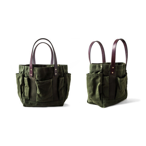 Canvas & Leather All-Purpose Tote - Kaufmann Mercantile
