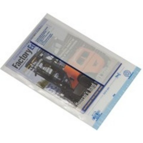 Postsafe Réf PO9 Enveloppe ultra légère Patte auto-adhésive avec bande protectrice Polyéthylène Transparent Format C4 235 mm x 310 mm Lot de 100 (Import Royaume Uni): Amazon.fr: Fournitures de bureau