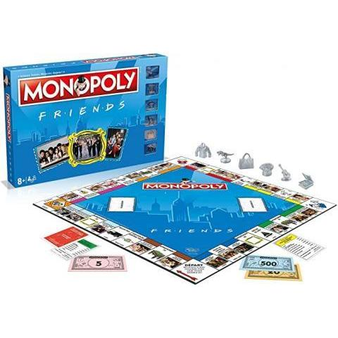 Winning Moves- Monopoly Friends-Version française, 0433: Amazon.fr: Jeux et Jouets
