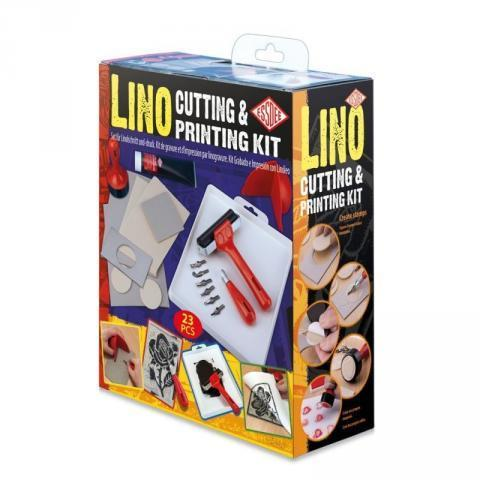 Lino Cutting & Printing Set - Cowling & Wilcox Ltd
