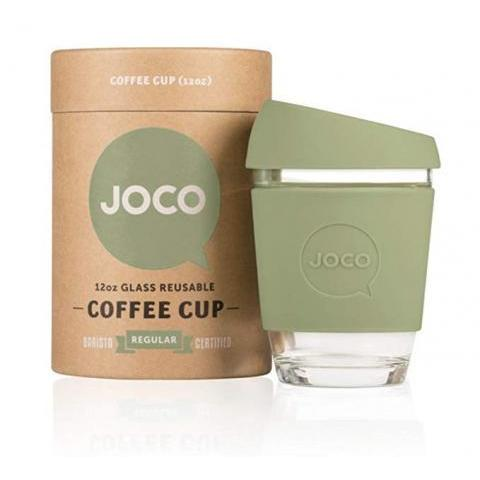 Amazon.com: JOCO Glass Reusable 12oz Coffee Cup (Black): Kitchen & Dining