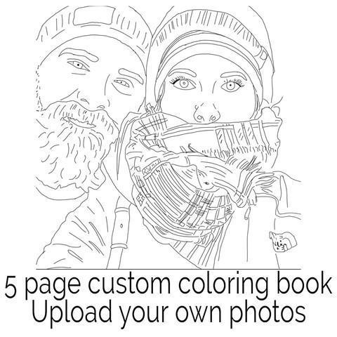Personalized Adult Coloring Book – my color me book