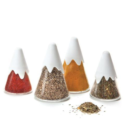 Peleg Design | Himalaya - Mountain Range Spice Containers | Unique Gift Ideas & Cool Gifts | BellaKoola.com