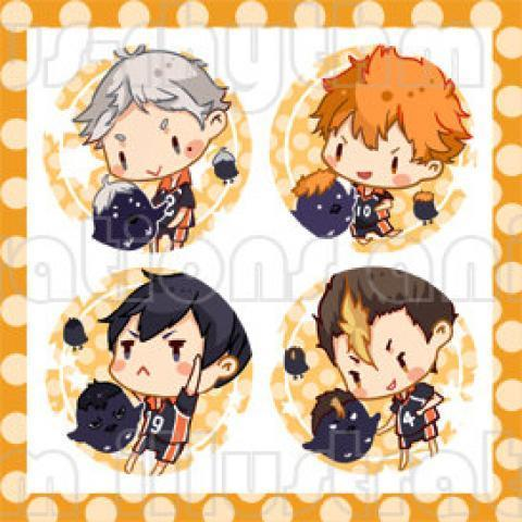 Haikyuu Buttons pins anime hinata kageyama by Animusrhythm on Etsy