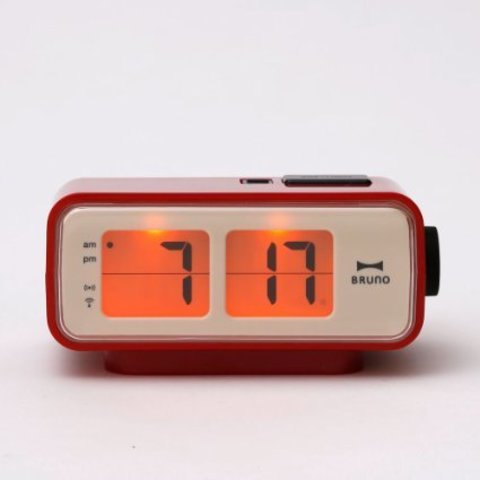 Amazon.com: Retro Digital Flip Desk Alarm Clock Red: Kitchen & Dining