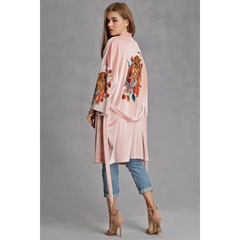 Jaded London Panther Kimono | Forever 21 - 2000231093
