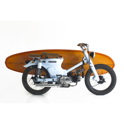 The Little Blue C70 | Deus Ex Machina | Custom Motorcycles, Surfboards, Clothing and Accessories