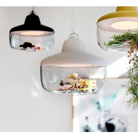 Suspension enfants, Favourite Things, blanc, nuage, Ø45cm - eno studio - Luminaires Nedgis