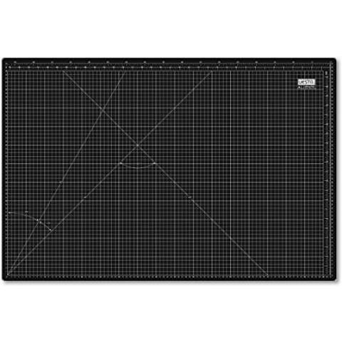 UESTA A1 (900 x 600 mm) Self Healing 5 Couches PVC Cutting Mat Tapis De Coupe Découpe (Noir): Amazon.fr: Fournitures de bureau