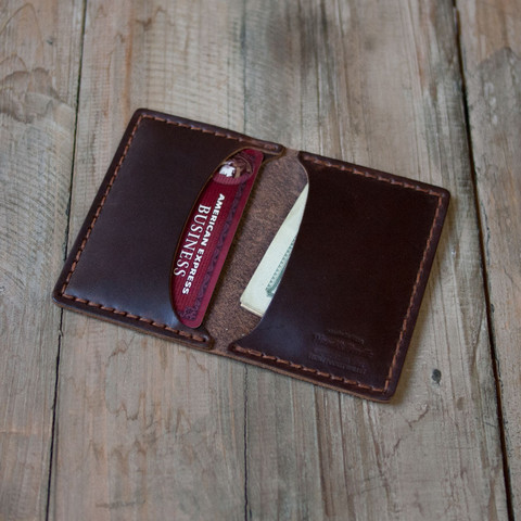 Wood&Faulk — Front Pocket Wallet