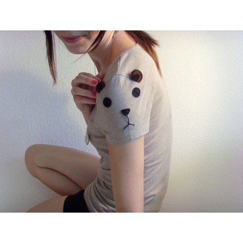 Beautiful Bear Tee Made to order by ThePetiteChouette on Etsy
