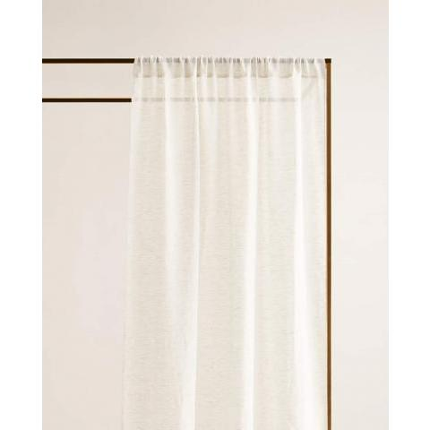 VOILAGE LIN - LINEN - CHAMBRE | Zara Home France