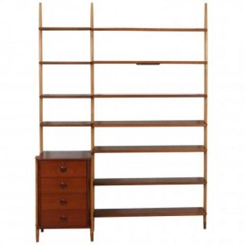 Shelving System with Cabinet, William WATTING - 1960s - Design Market