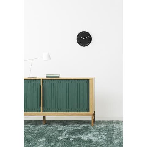 Wall clock Day by Normann Copenhagen - Black | Made In Design UK