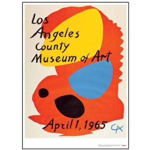 Alexander Calder Los Angeles County Museum of Art Poster – LACMA Store