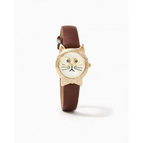 Bow Tie Kitty Strap Watch  | Charming Charlie