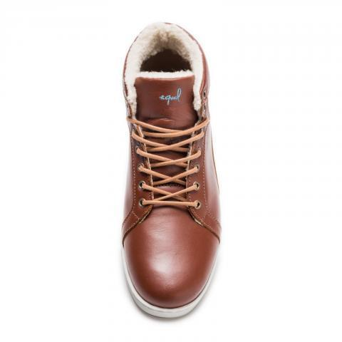 Premiere High Brown - equal-for-all.com | Marque de Chaussures Responsable