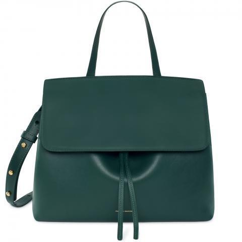 MANSUR GAVRIEL - Lady Bag Calf Coated - Moss