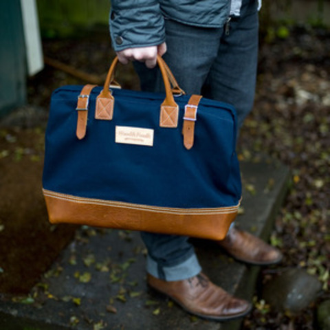 Wood and Faulk — Wood&Faulk Deluxe 16in Carpenter's Bag