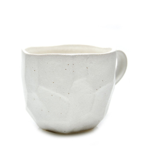 Japanese Boulder Mug Faceted | LEIF