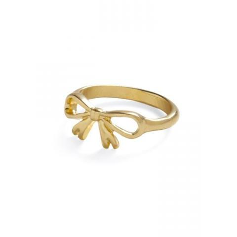 Golden Gift Ring | Mod Retro Vintage Rings | ModCloth.com