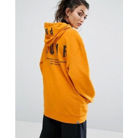 Puma | Puma - Exclusivité ASOS - Sweat à capuche oversize à message