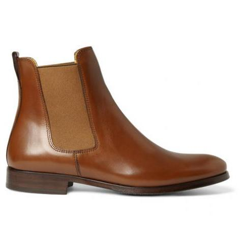 A.P.C. Leather Chelsea Boots | MR PORTER