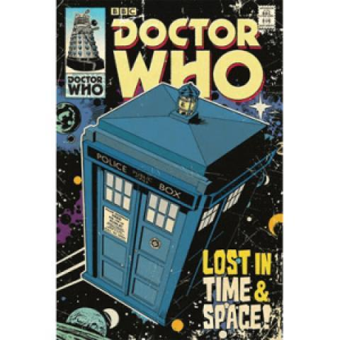 Poster Doctor Who Lost in Time and Space 61 x 91 cm à 9.90€ - SERIES STORE