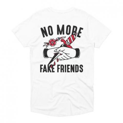 Fake Friends Long Tee – Bad Monday Apparel
