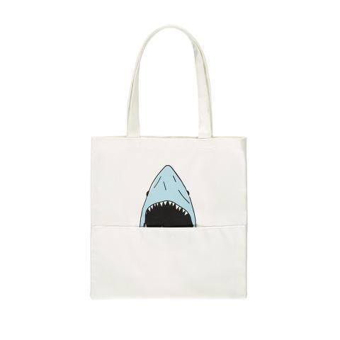 Tote bag à motif requin | Forever 21