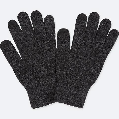 HEATTECH KNITTED TOUCH SCREEN GLOVES | UNIQLO UK