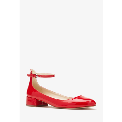 Faux Patent Leather Ankle Strap Flats - Womens shoes and boots | shop online | Forever 21 - 2000132679 - Forever 21 EU