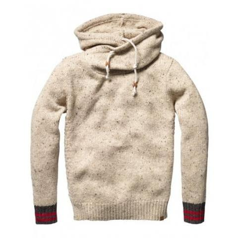 Hooded pull - Pulls - Scotch & Soda Online Shop