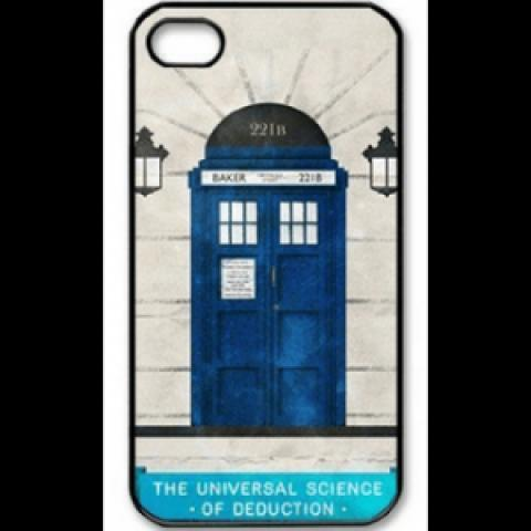 Coque iPhone Doctor Who Sherlock 9.90€ - SERIES STORE