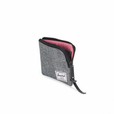 Herschel Johnny Wallet (raven crosshatch) - 10094-00919/00 | CRAY Hats