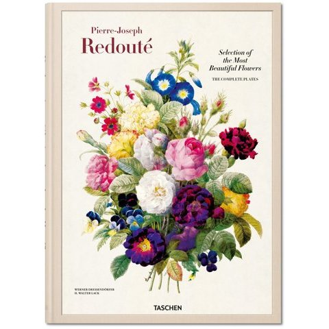 Redouté. Selection of the Most Beautiful Flowers. Livres TASCHEN (XL-Format)