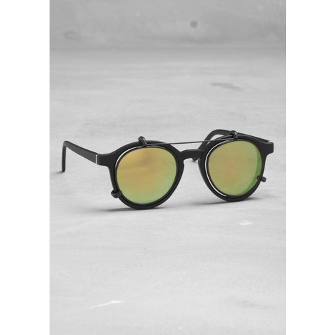 Round frame sunglasses | Yellow | & Other Stories