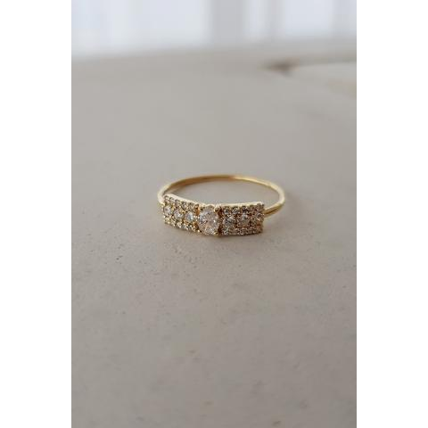 Second Wife yellow gold ring - RINGS