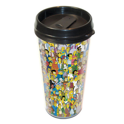 i-Cup SIMPSONS SPRINGFIELD TRAVEL MUG at Shop Jeen | SHOP JEEN