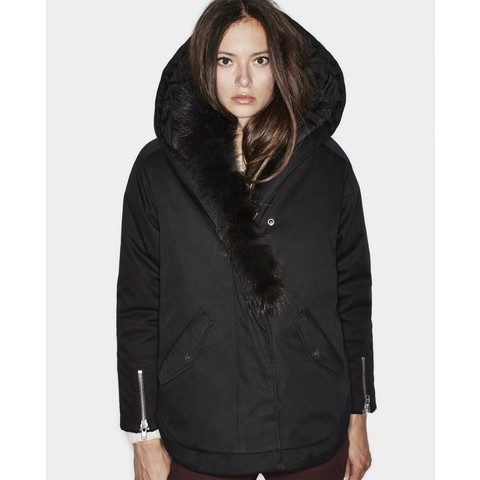 Parka à col en fourrure - Manteaux - Femme - The Kooples