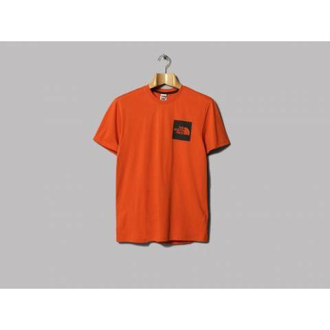 The North Face Fine Tee (Tibetan Orange) – Oi Polloi