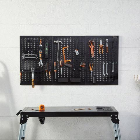 45pc Metal Pegboard Set | VonHaus