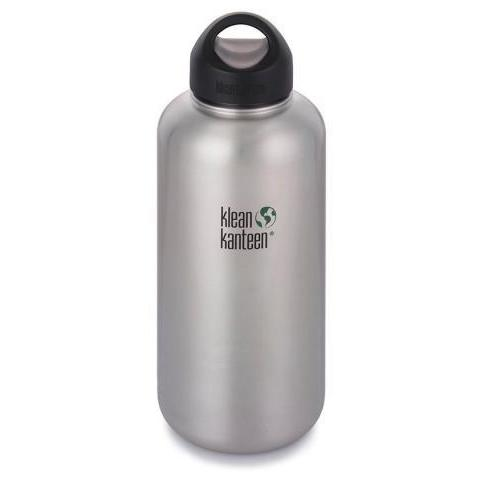 Klean Kanteen: 64oz Wide-Mouth Steel Water Bottle – Klean Kanteen UK
